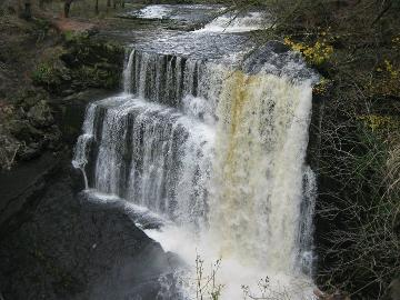 Brecon Beacons waterfall walk
