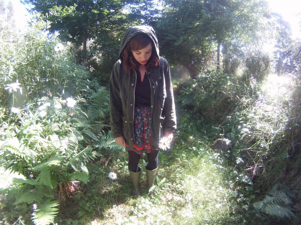 Womens Barbour Lookbook - Blogger Barbour Style