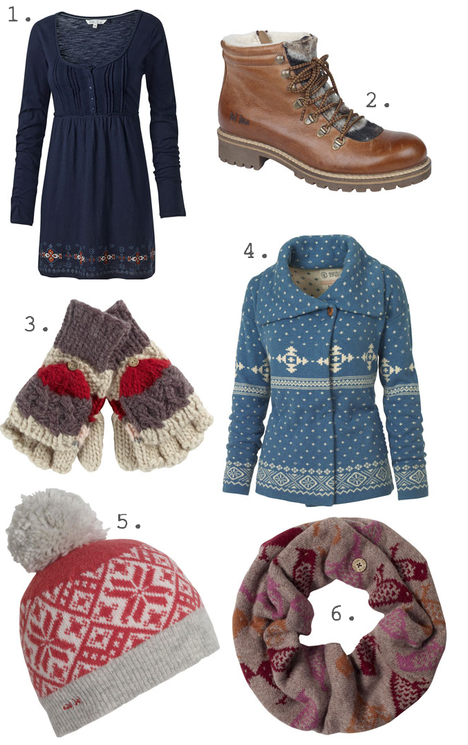 Competition: win £100 to spend on winter goodies from Fat Face
