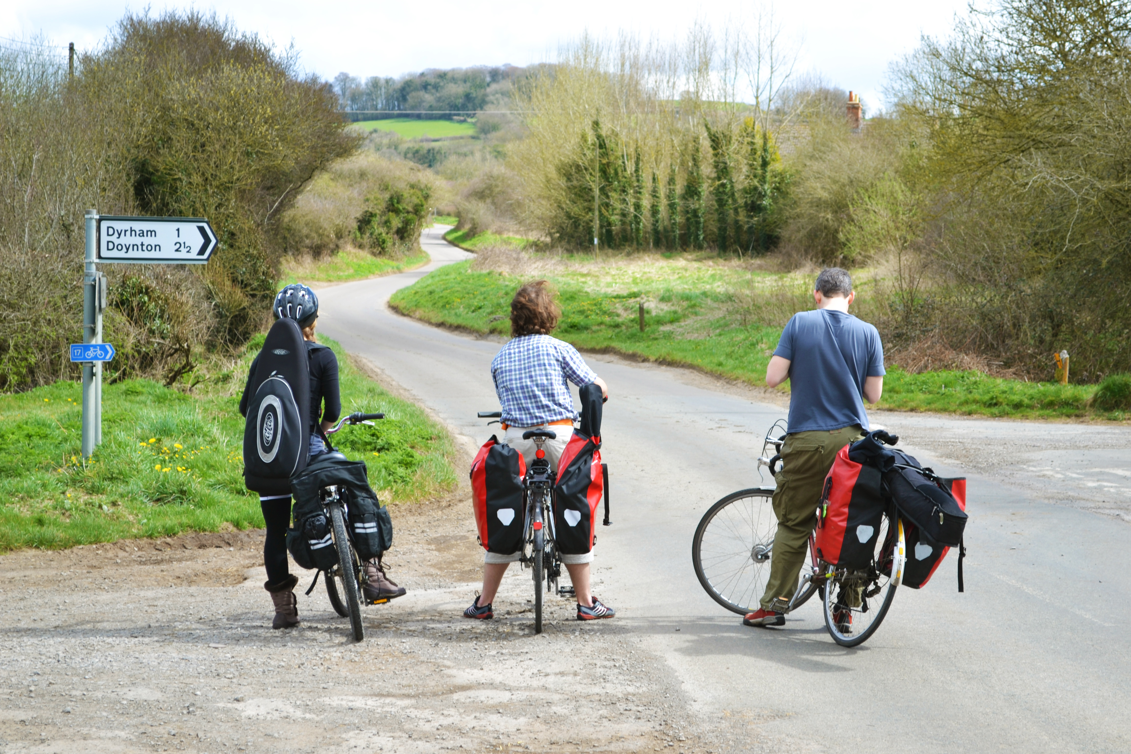 Cycling from Bristol to Oxford with PedalFolk