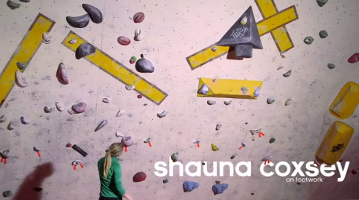 How to: boulder, by UK champion Shauna Coxsey for Adidas