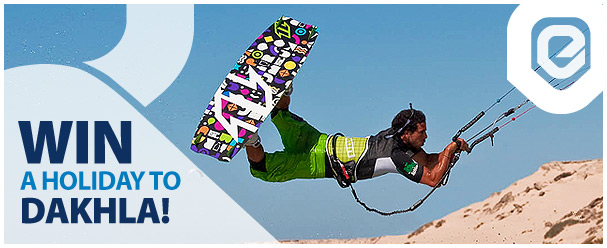 Competition: Win a kitesurfing holiday with Explora Morocco