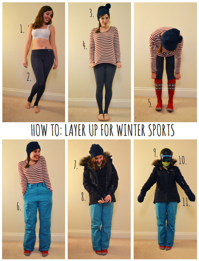 How to: layer up for winter sports