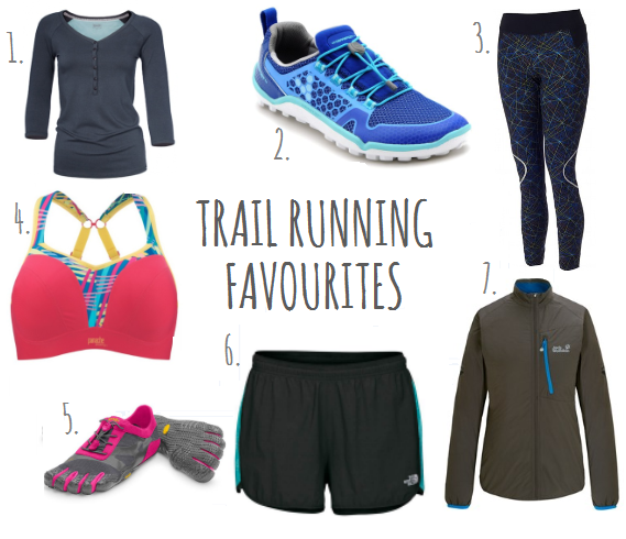 Trail running kit