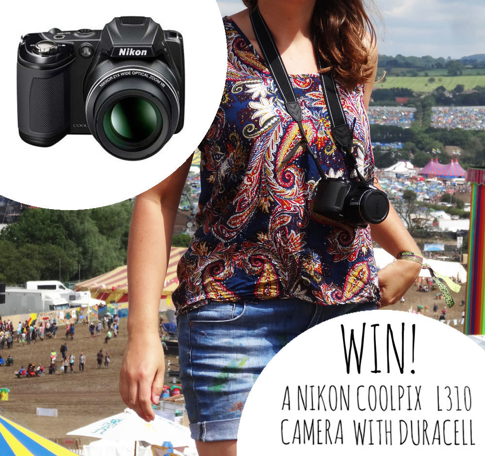Competition: Win a Nikon Coolpix L310 camera with Duracell