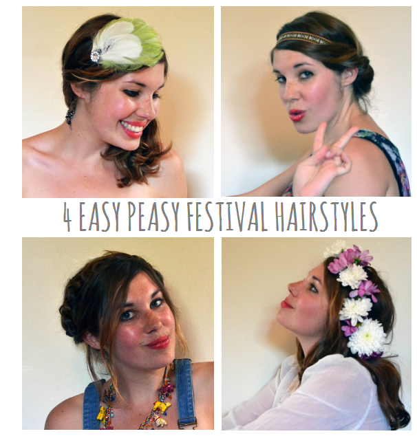 festihair Festival Hair Ideas - Easy Festival Hair Styles