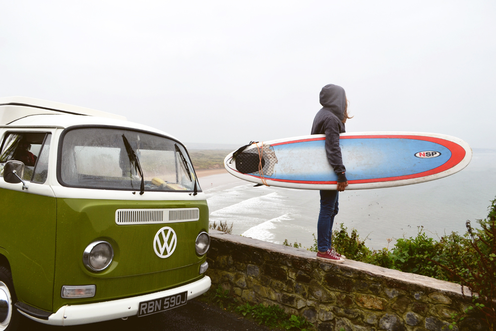 Places to stay: renting a campervan in Devon