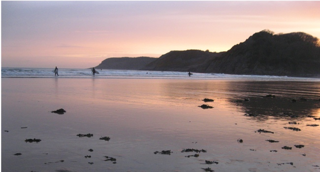7 great British surfing beaches