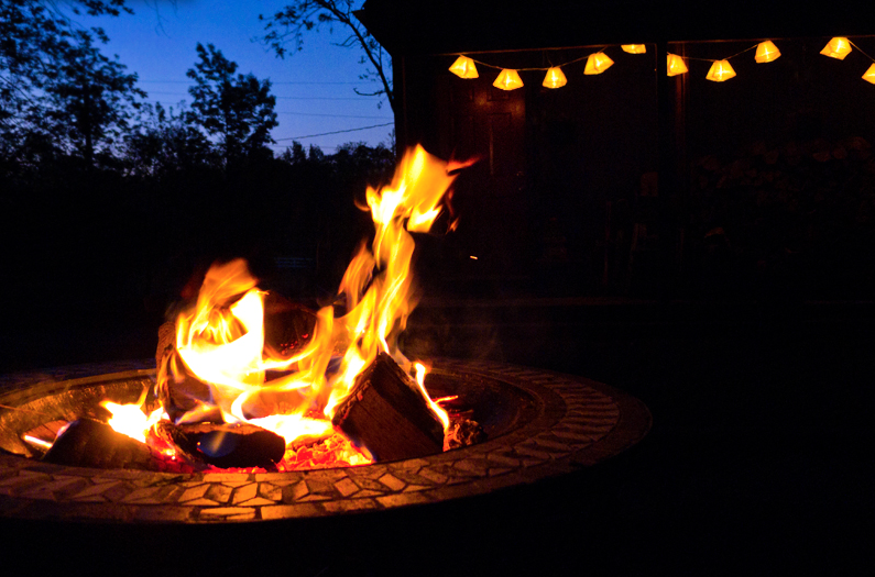 How to: build your own fire pit