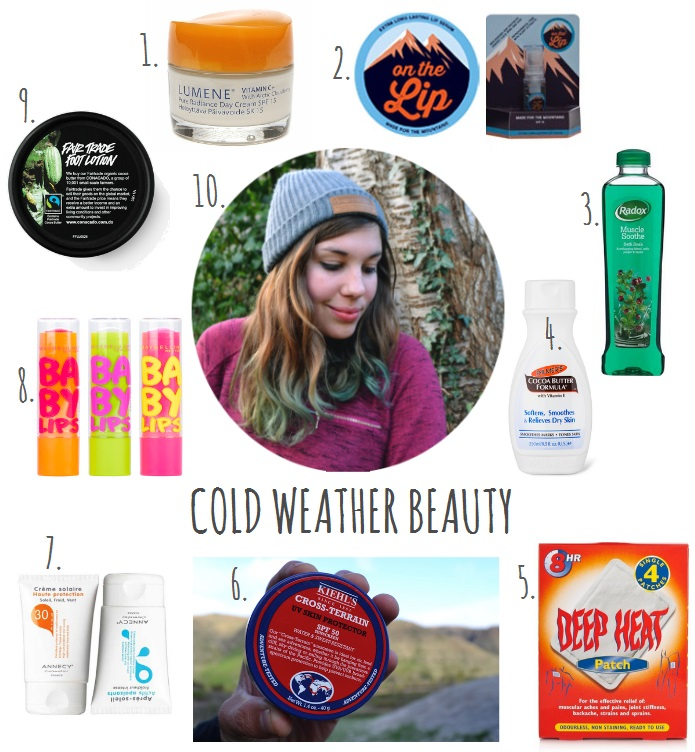 Winter Skincare – my favourite products