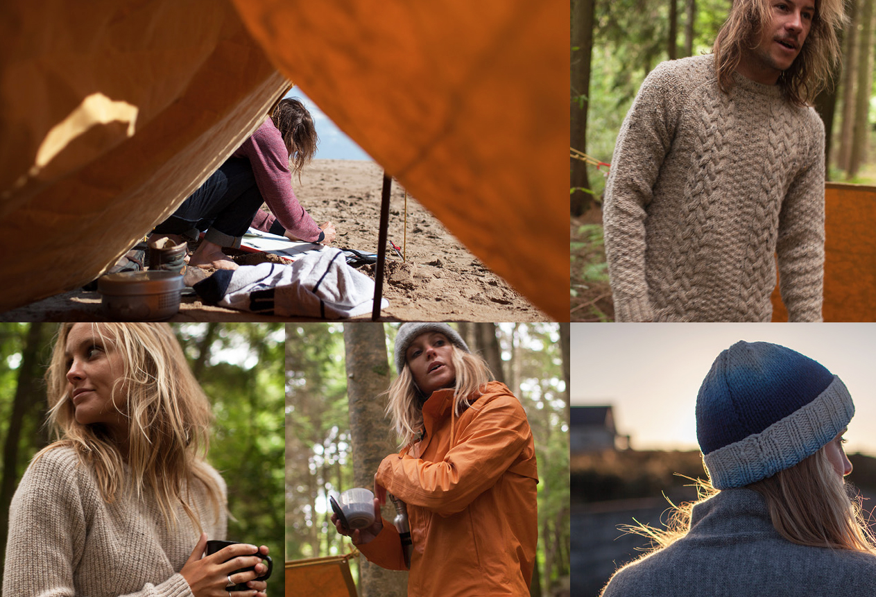finisterre Autumn/Winter 2014 outdoor lookbook
