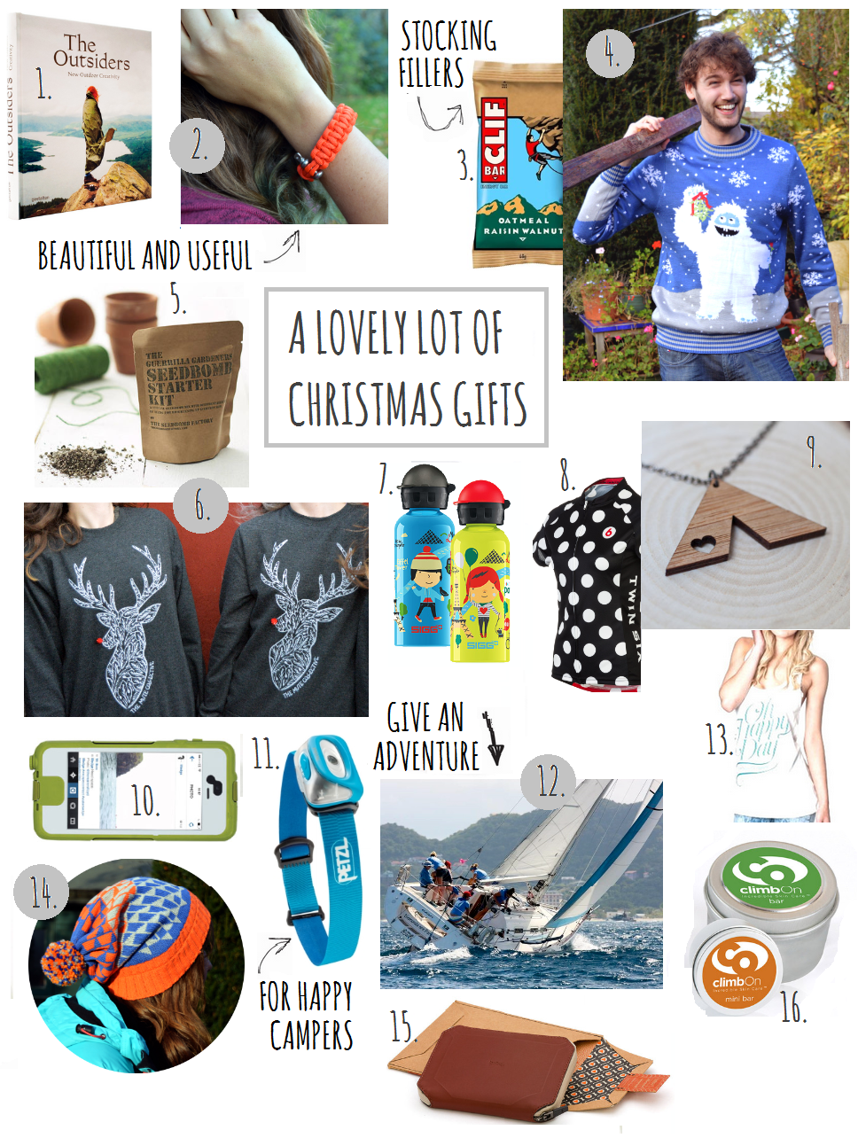 the great outdoorsy christmas gift guide 2014 - Christmas Gifts For Outdoorsmen