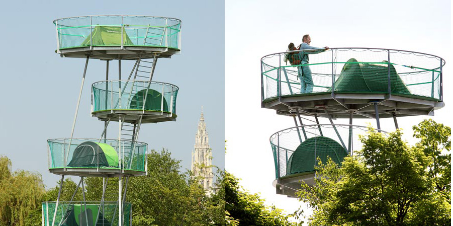 urban outdoors installations