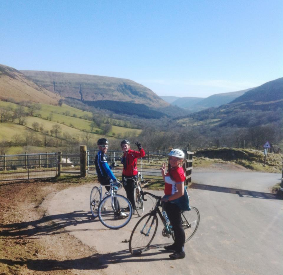 black mountains cycling - Abergavenny to Hay On Wye
