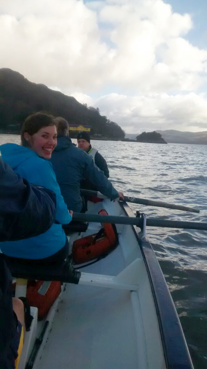Coastal rowing in Aberdovey