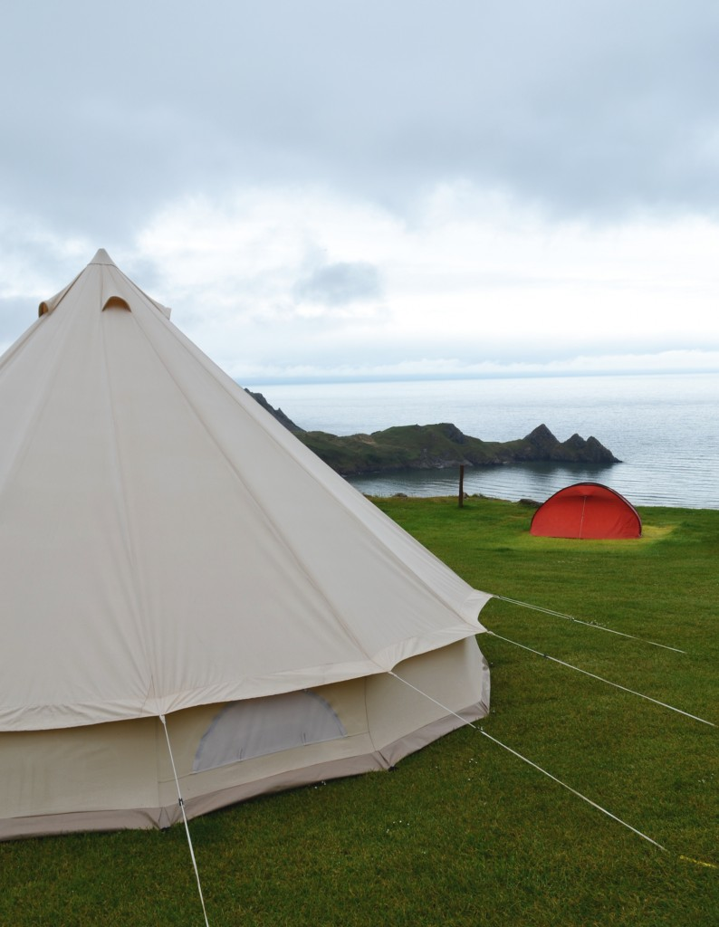 Visit Swansea Bay and the Gower: camping weekend