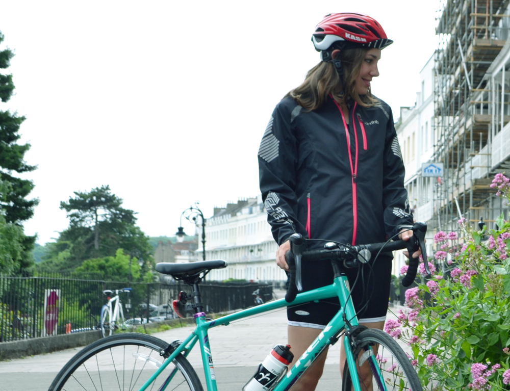 Review: DHB Flashlight Highline waterproof cycling jacket