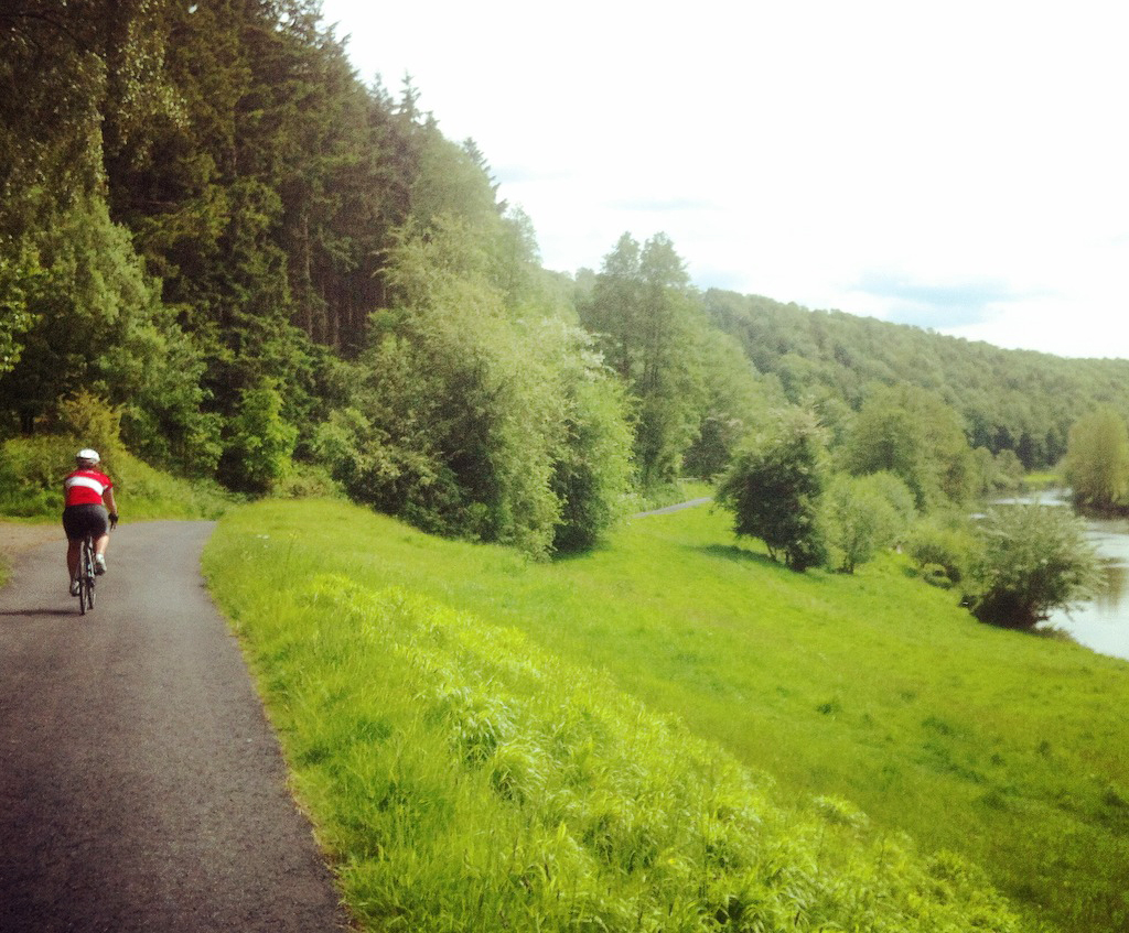 A cycling and bivvying adventure in the Wye Valley