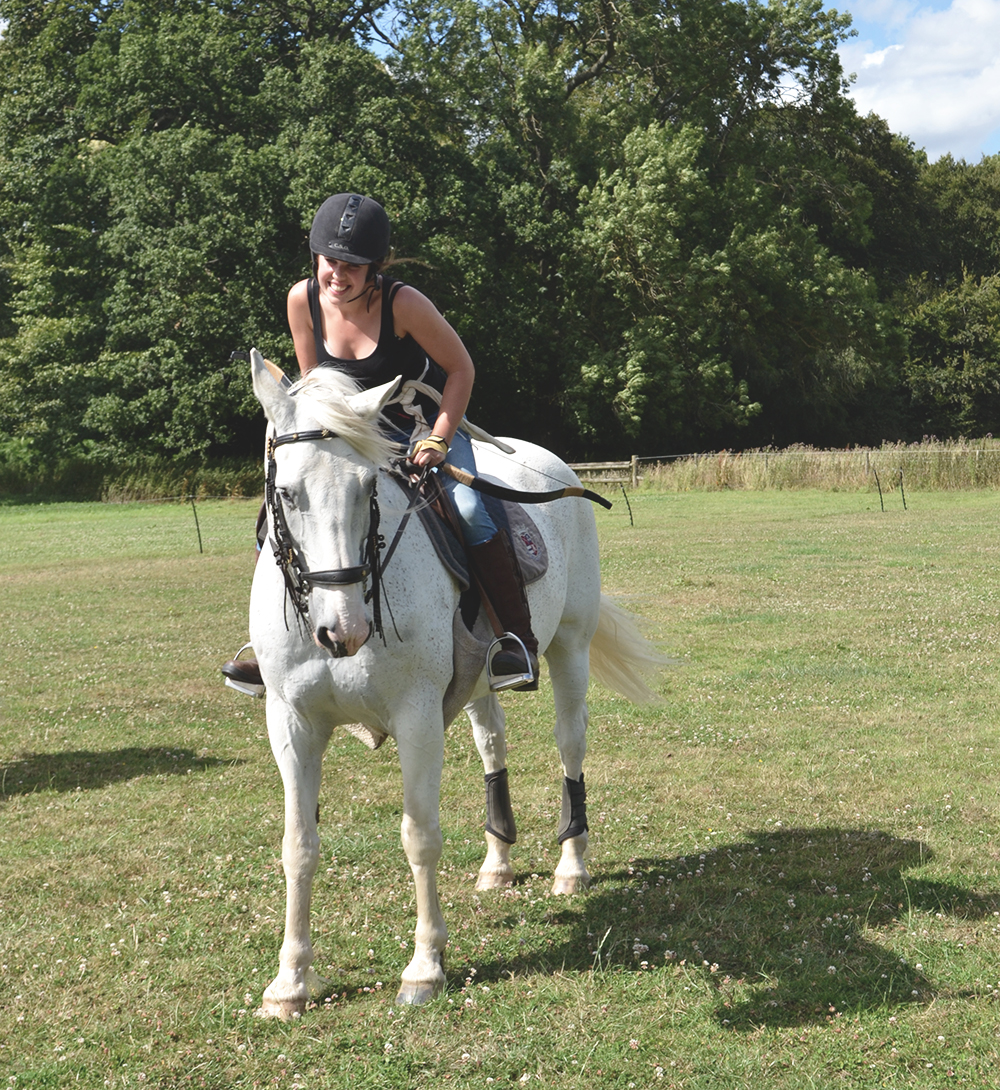 Horseback combat with Jeep and #Renegadeswanted