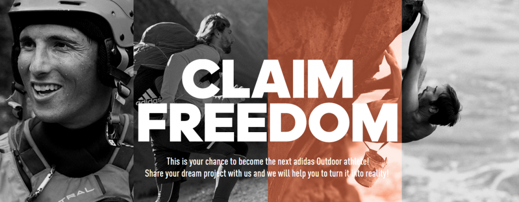 Sponsored video: adidas Outdoor presents #claimfreedom