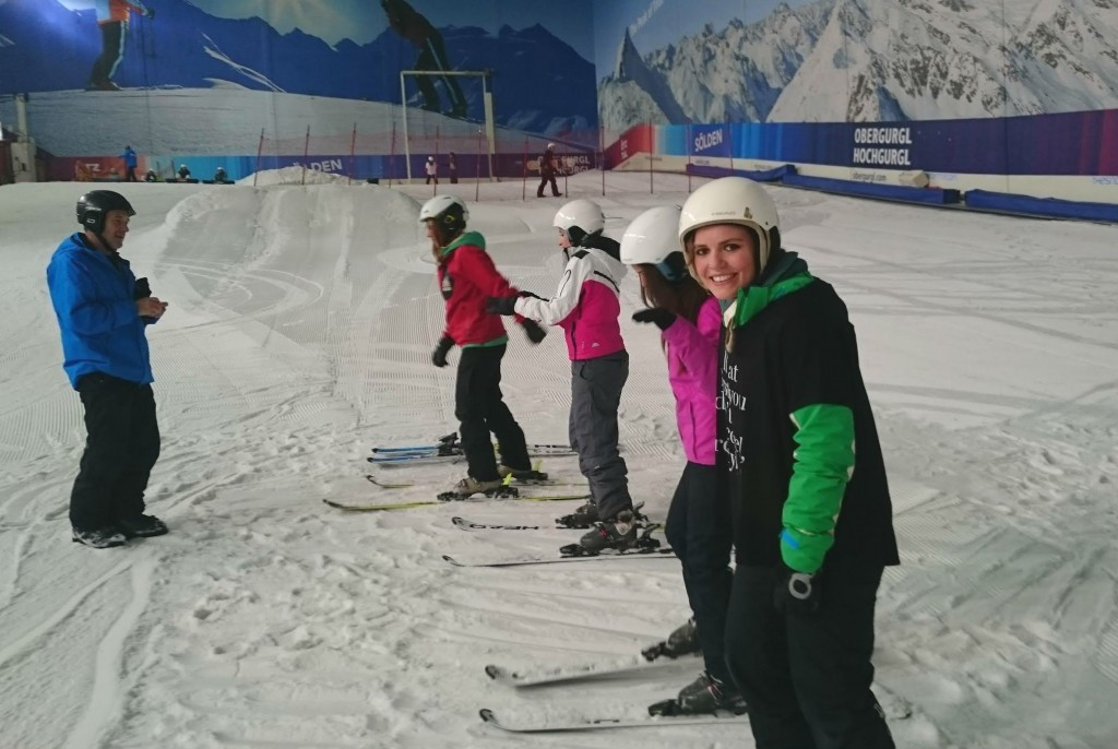 Learning to ski with #ThisGirlCan