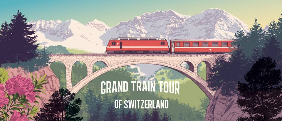 My Grand Train Tour of Switzerland