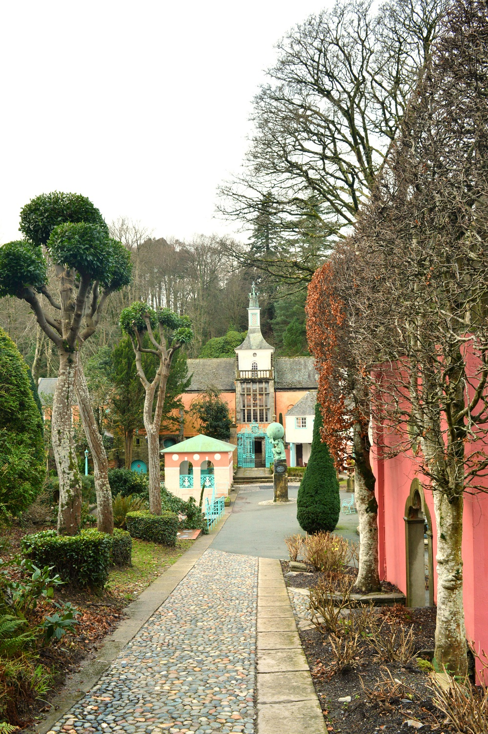 Places to stay: Portmeirion village, Snowdonia