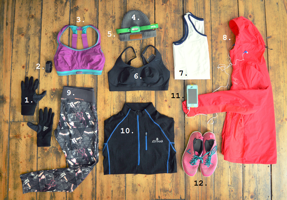 fitness kit for winter training 2016
