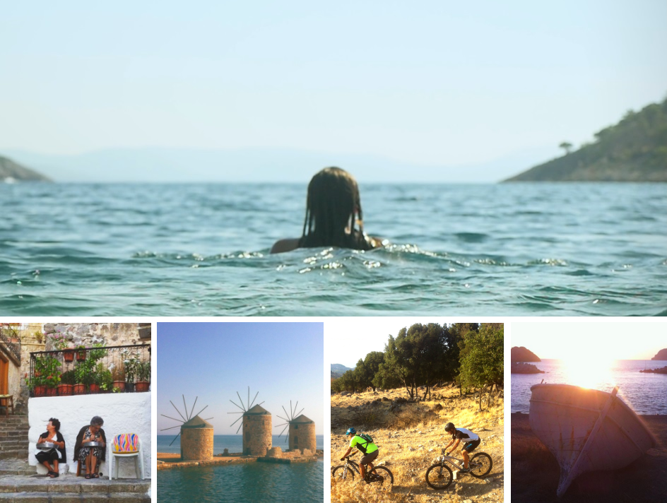 Greentraveller's guide to the Greek islands of Lesvos and Chios
