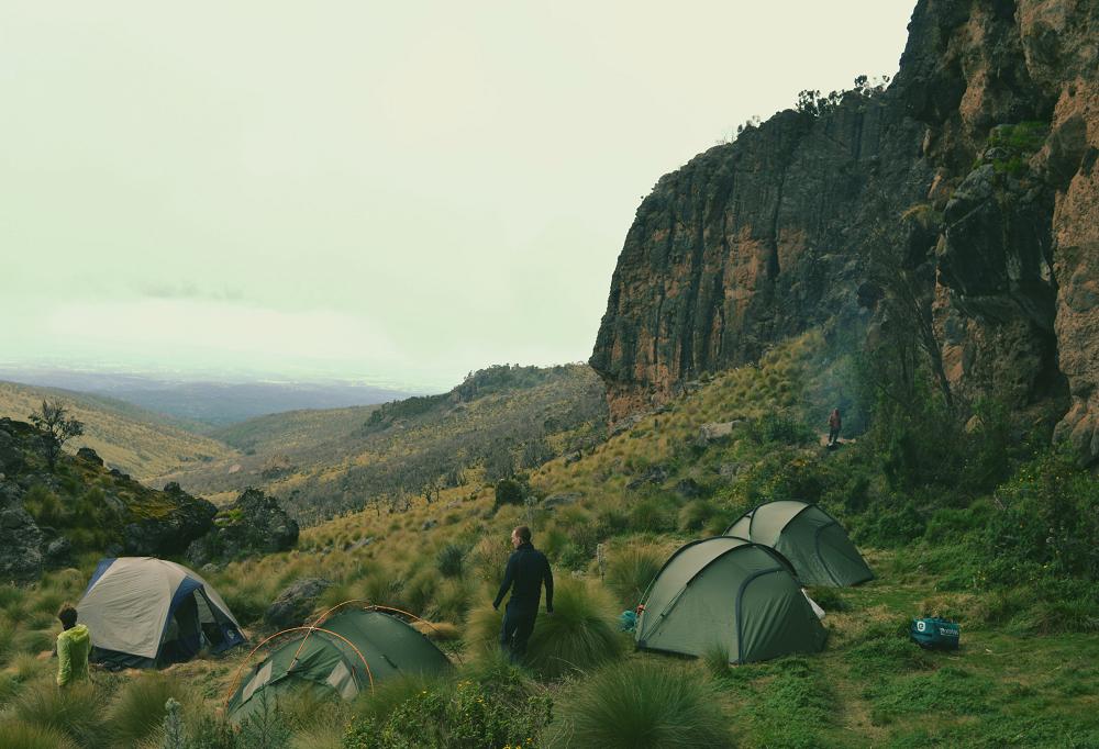 Trekking Mount Kenya The Girl Outdoors diary