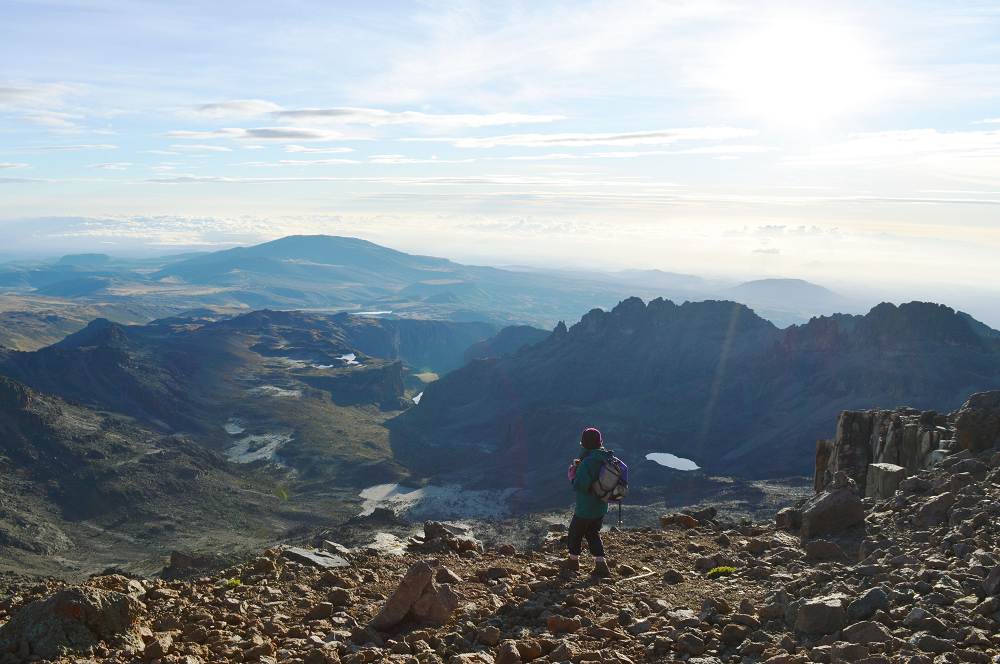 Trekking Mount Kenya – my mountain diary