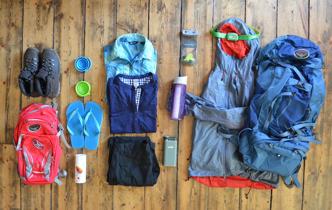 What to pack for a summer hike