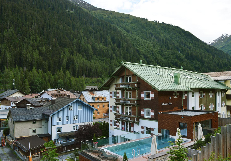 Summer in St Anton Am Arlberg, Austria