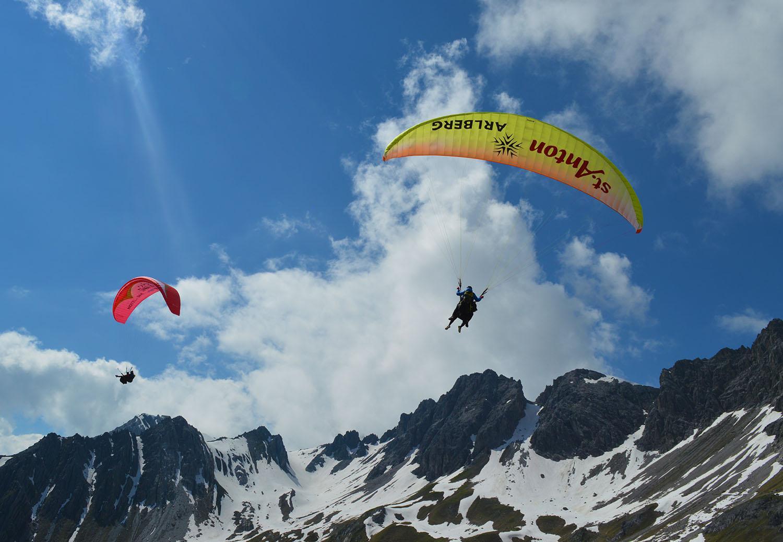 paraglide St Anton am Arlberg