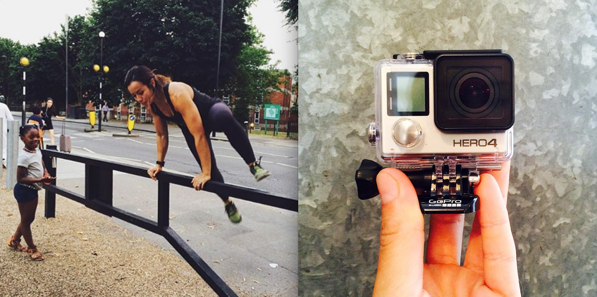 Extreme London – trying out parkour with GoPro #goproextremeldn