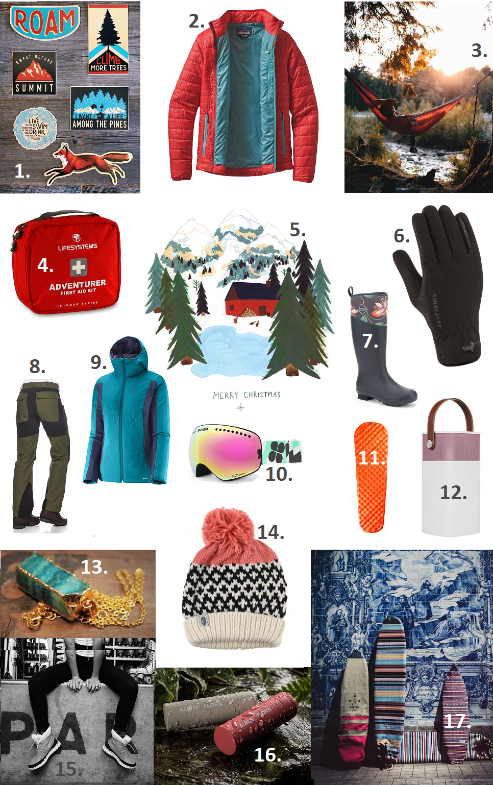 The great big outdoorsy Christmas gift guide 2016