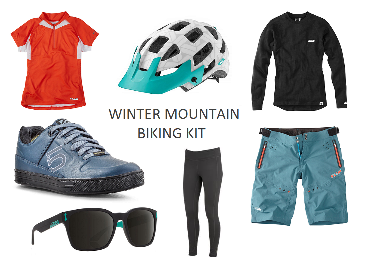 My favourite winter mountain biking kit