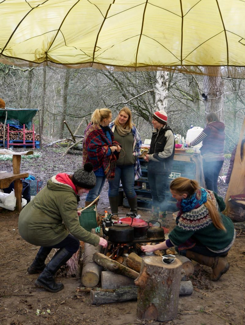 Woodland Women Honeywoods Camping