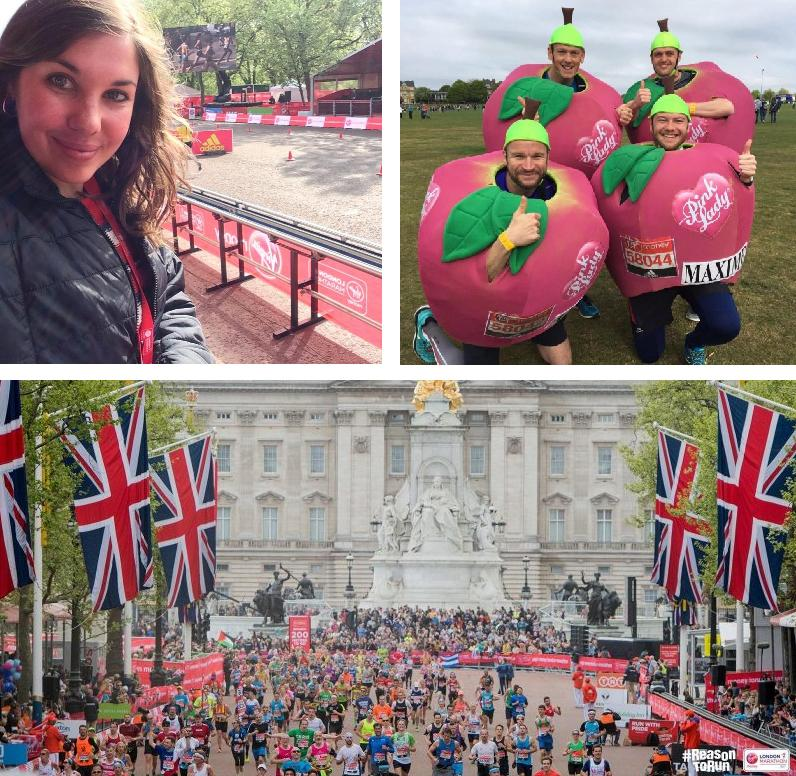 London Marathon with Pink Lady®