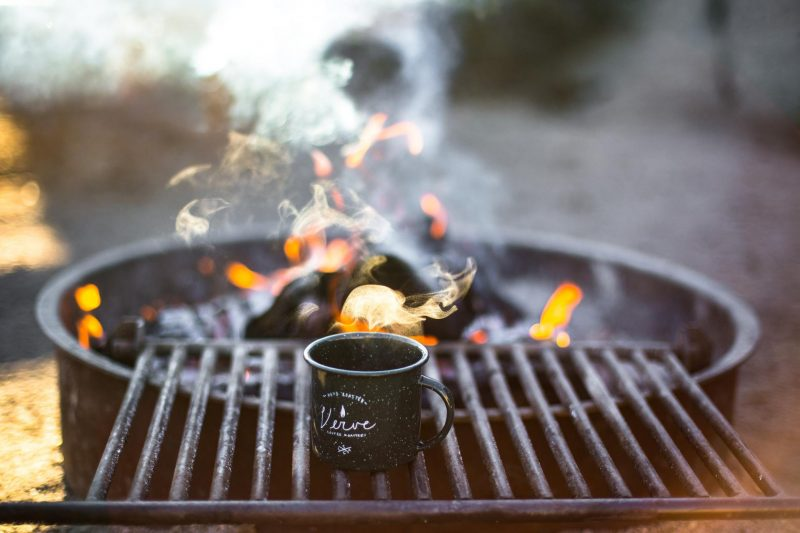 How to make coffee when camping