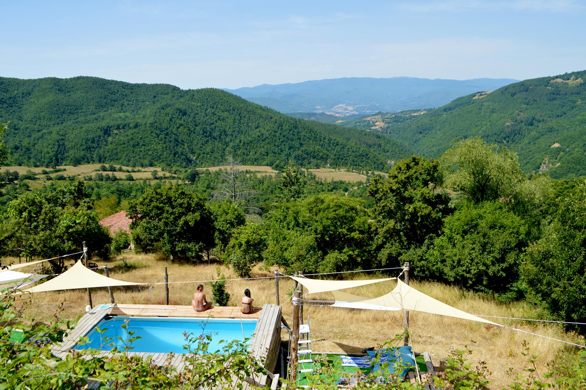 Places to stay: Novanta90 off-grid hotel, Tuscany