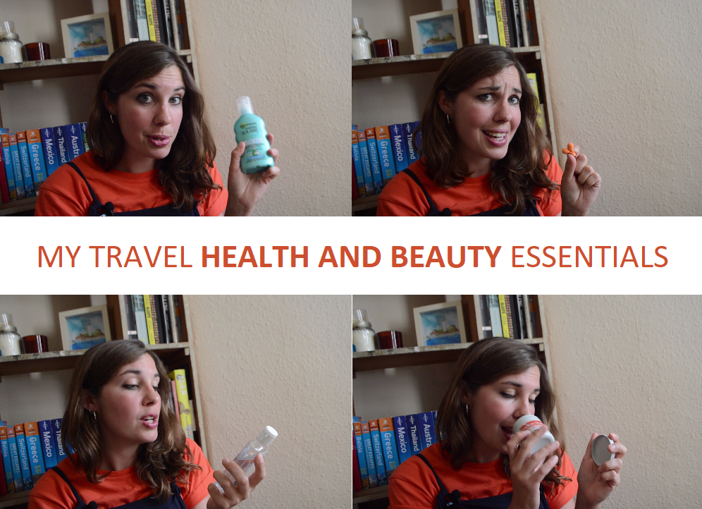 Video: my health and beauty essentials for travel