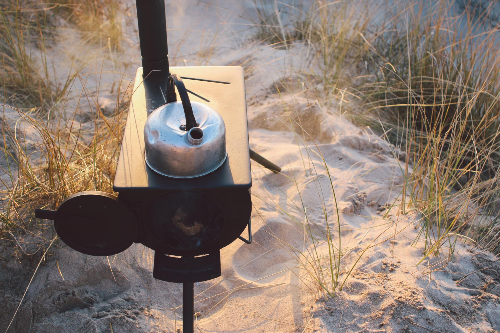 Outdoor adventures with the Anevay Frontier stove