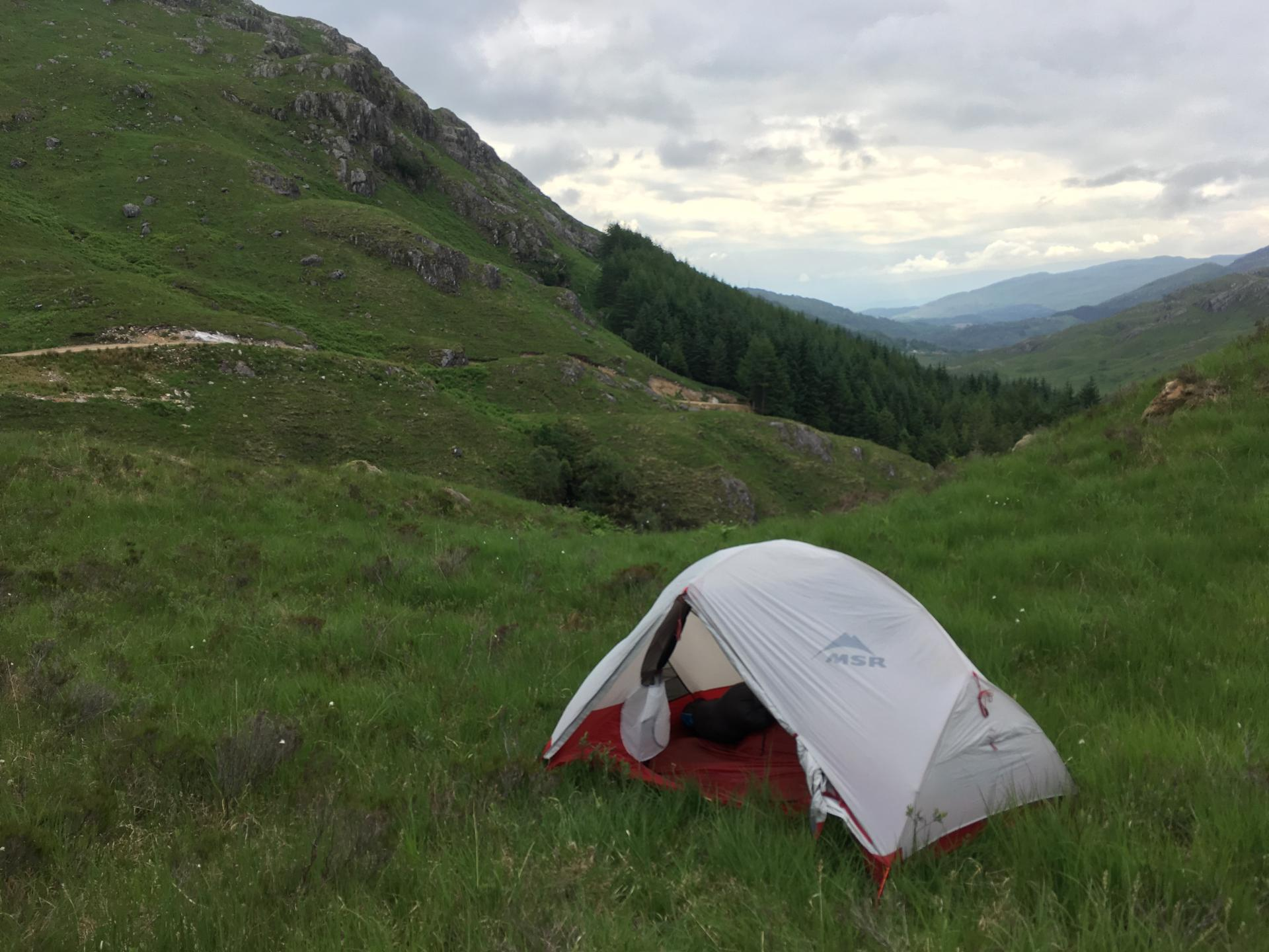 MSR Hubba Hubba review two man wild camping tent hiking