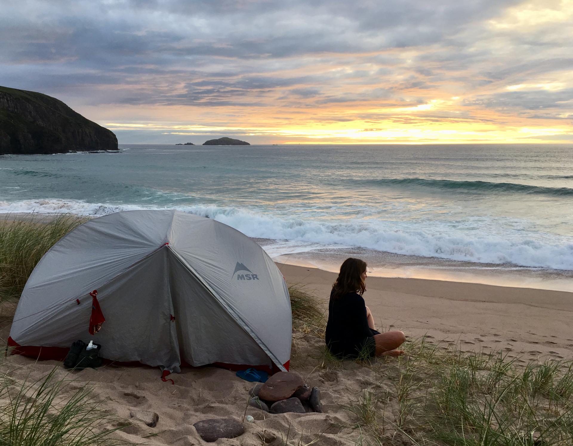 Wild camping: finding the confidence to go solo