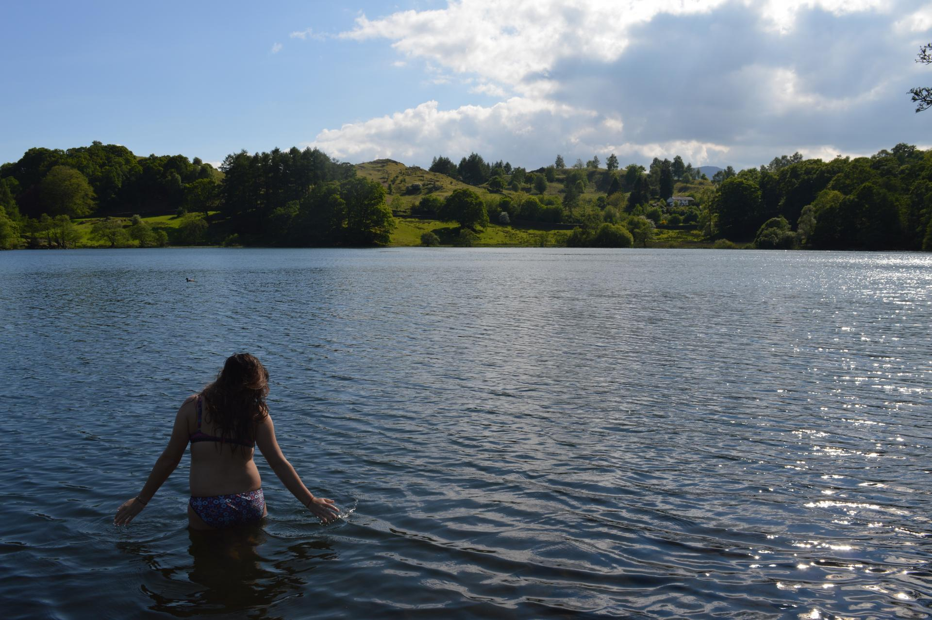 Wild swimming safety - avoiding reservoirs where to swim in Wales One Last Breath campaign