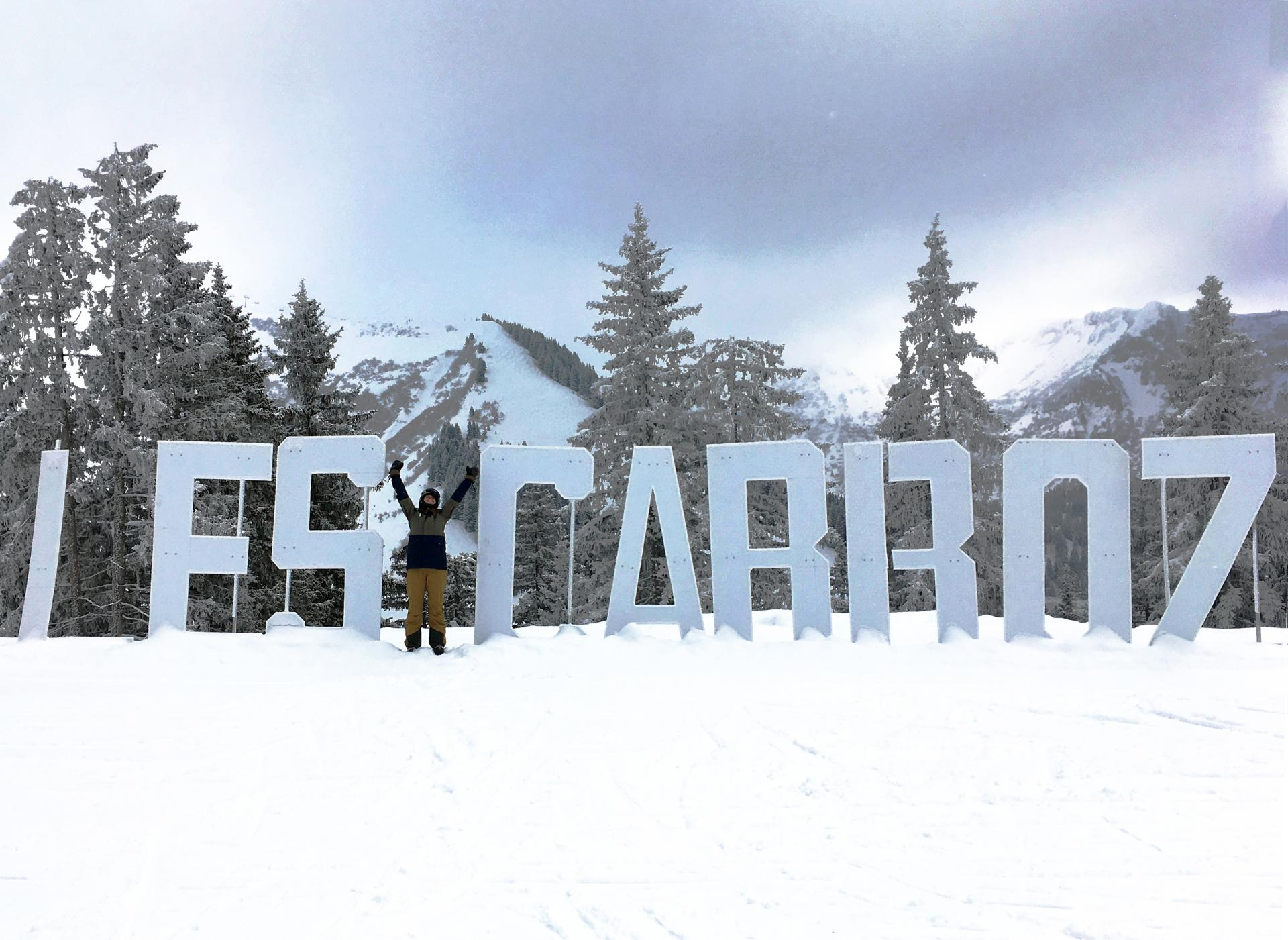 The girl's guide to skiing in Les Carroz, France