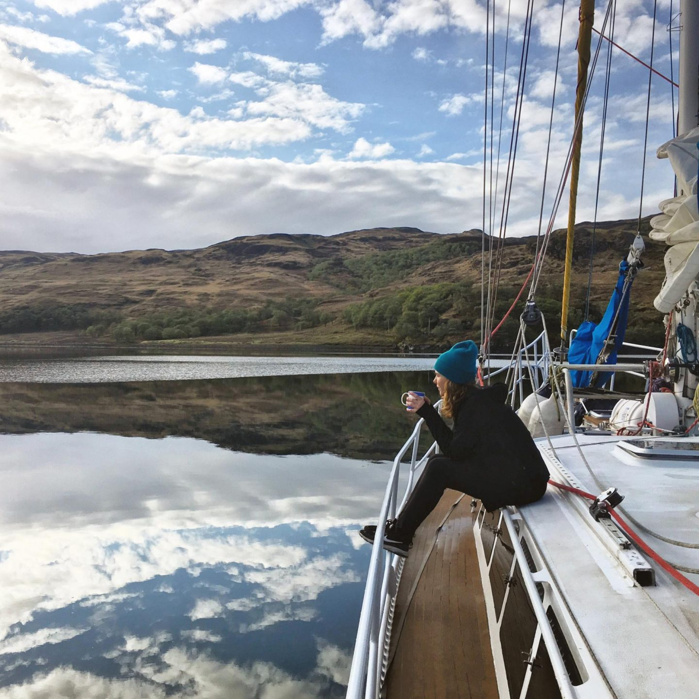 Trekking and sailing the Scottish Hebrides with Mammut Mountain School