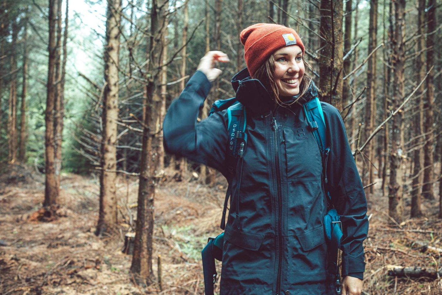 Haglofs Grym Evo Jacket Review The Girl Outdoors Sian Lewis