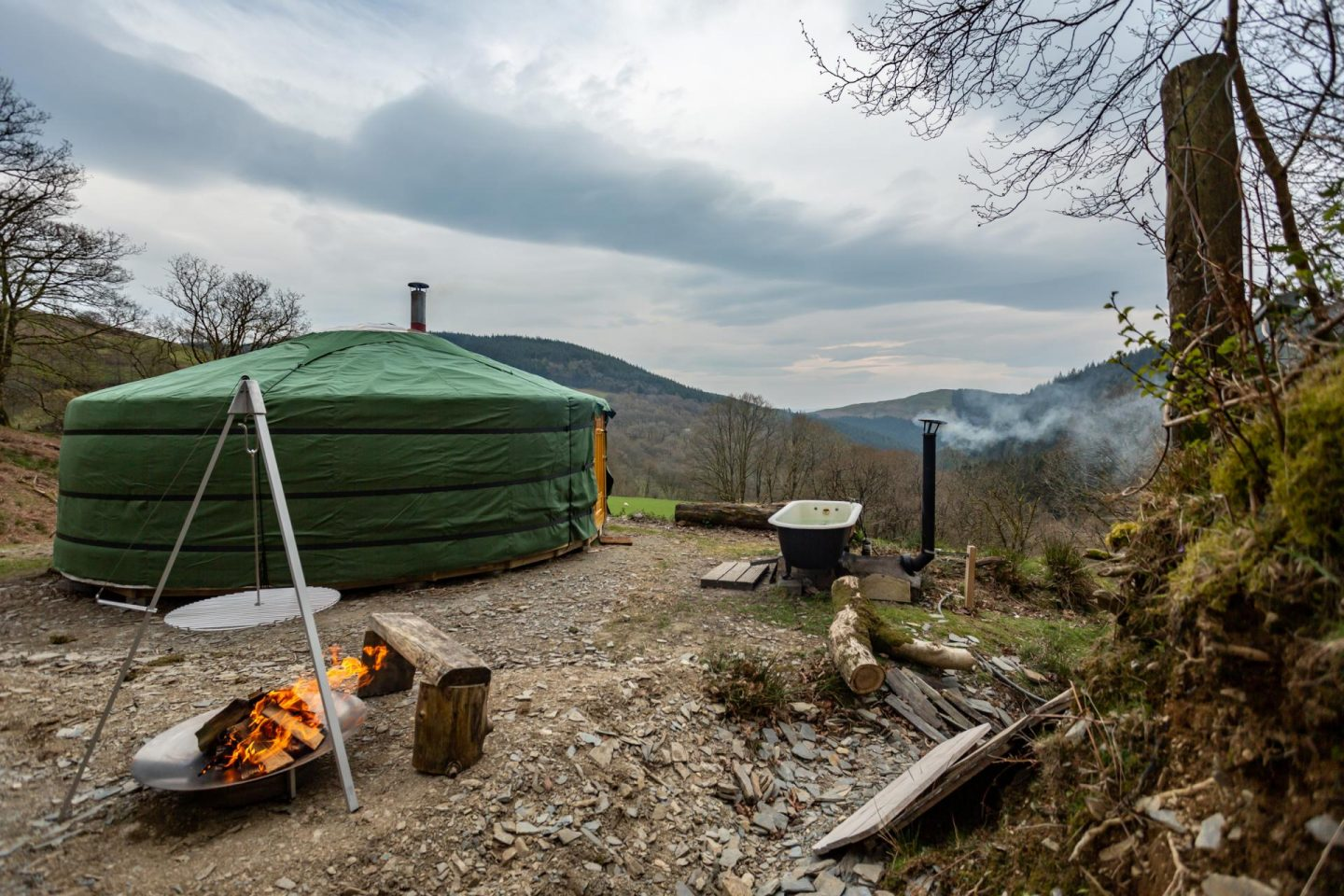 Eco Retreats Wales review The Girl Outdoors Sian Lewis